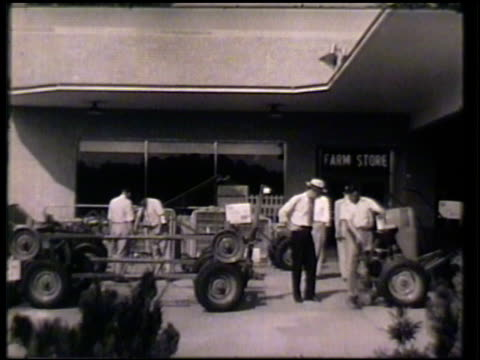 various sears stores, sears service station, farm store, garden shop, & department stores, sears building, delivery truck driving. sears, roebuck and... - department store stock videos & royalty-free footage