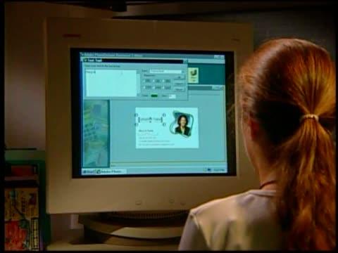various shots about adobe photodeluxe business edition. - adobe bildbanksvideor och videomaterial från bakom kulisserna
