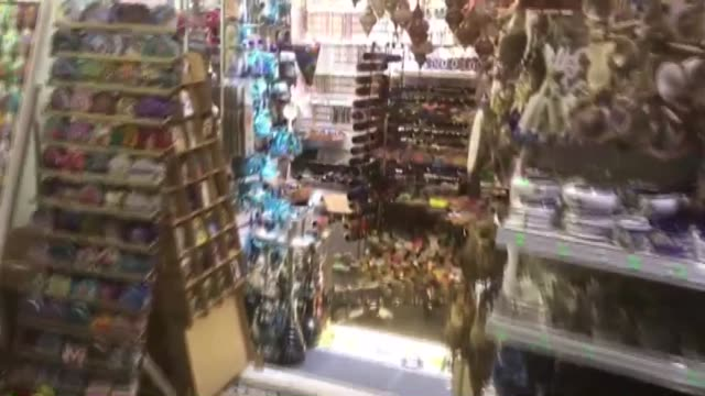 various shots from a souvenir shop in mugla western province of turkey after a magnitude63 earthquake hit the aegean sea near the turkish coast at... - mugla province stock videos and b-roll footage