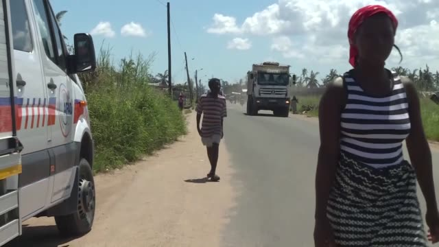 various shots from areas affected by cyclone idai on march 26, 2019 in beira, mozambique. cyclone idai, made a landfall in mozambique's port city of... - cyclone stock videos & royalty-free footage