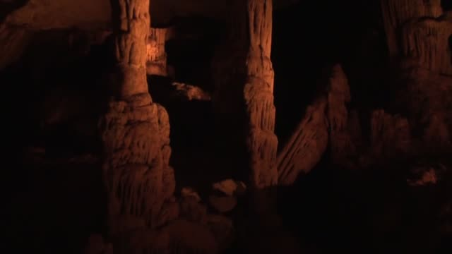 vidéos et rushes de various shots from ballica cave that fascinates visitors with its rare onion-shaped stalactites and formations inside as well as its mysterious... - cesar