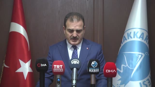 various shots from exterior of hakkari city hall on october 18 2019 after new mayor appointed governor idris akbiyik was appointed as the new mayor... - bürgermeister stock-videos und b-roll-filmmaterial