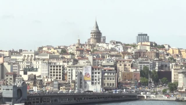 Various shots from historical places of Istanbul which will host the 2017 European Basketball Championship finals and matches of one group at the...