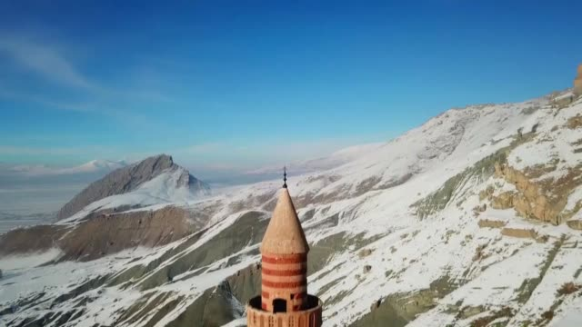 various shots from ishak pasha palace in turkey's eastern agri province which has become the focus of interest for domestic and foreign tourists the... - tourism stock videos & royalty-free footage