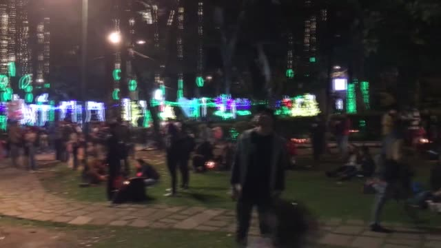 various shots from little candles' day marking the start of the christmas season in bogota on december 07 2018 - día stock videos & royalty-free footage