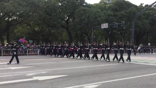 stockvideo's en b-roll-footage met various shots from military parade marking argentina's independence day on july 09 2019 in buenos aires - atlantische eilanden