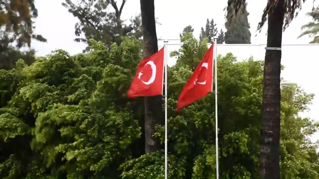 various shots from streets as storm hits bodrum district of turkey's southwestern mugla province on january 03 2019 - mugla province stock videos and b-roll footage