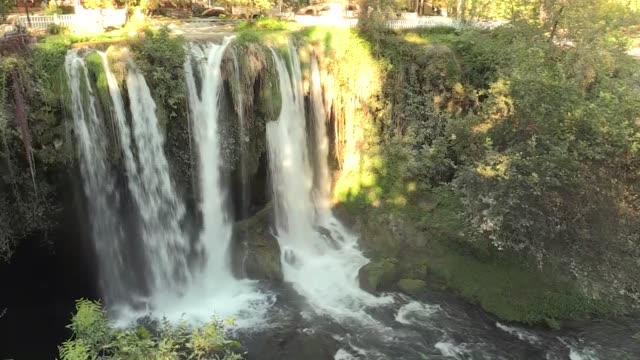 various shots from the duden waterfalls and its environment in the mediterranean city of antalya turkey on november 07 2017 - mediterranean turkey stock videos and b-roll footage