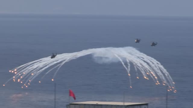 Various shots from the Efes2016 Combined Joint Live Fire Exercise in Seferihisar district of Izmir Turkey on May 31 2016 Total of 860 military...