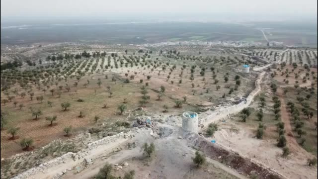 Various shots from the ongoing Operation Olive Branch in Syria's Afrin on February 17 2018Turkey on Jan 20 launched Operation Olive Branch to remove...