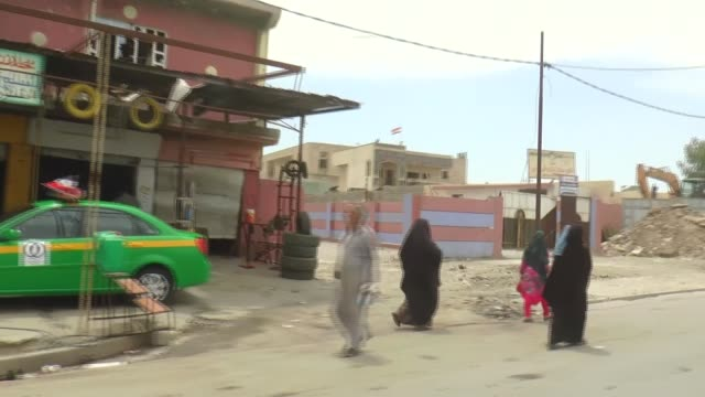 vídeos de stock, filmes e b-roll de various shots from the outskirts of mosul on may 20, 2017 after it was cleared off daesh as part of the ongoing operation. iraqi forces, backed by... - 2017
