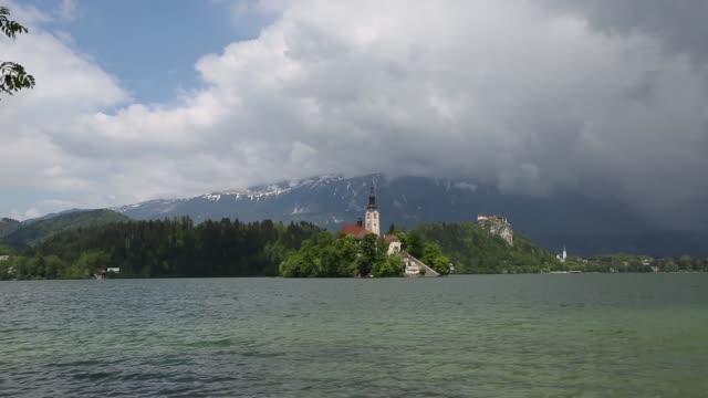 stockvideo's en b-roll-footage met slovenia economy stock shots - julian alps