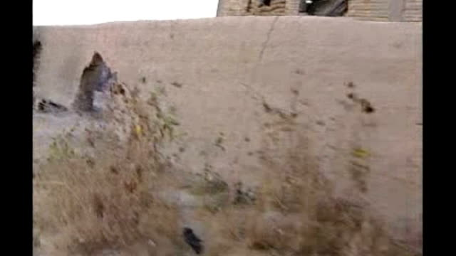 various shots of british soldiers in action running for cover taking part in gunfights against taliban insurgents/militants explosion on skyline... - fighter stock videos & royalty-free footage