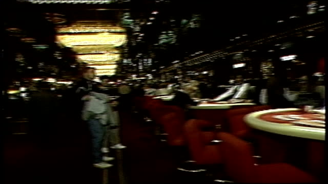 various shots of casino gaming tables - atlantic city stock videos & royalty-free footage