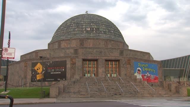 various shots of chicago's museum campus the future sight of george lucas's museum on june 24 2014 - george lucas bildbanksvideor och videomaterial från bakom kulisserna