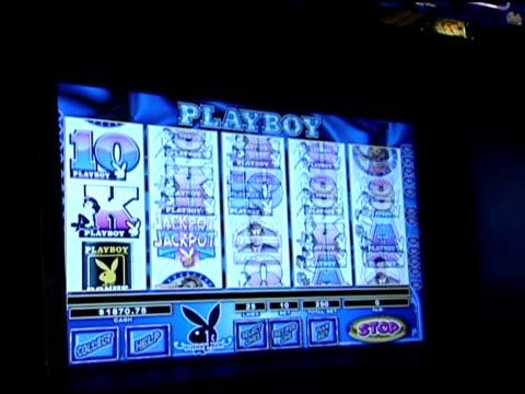 various shots of playboy slot machine - fruit machine stock videos & royalty-free footage