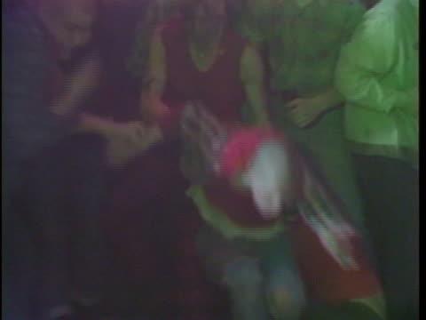 various shots of punkers slam dancing - punk music stock videos & royalty-free footage