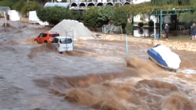 various shots of the floodhit areas in turkey's southern province of mersin on the mediterranean coast on november 05 2017 - mediterranean turkey stock videos and b-roll footage