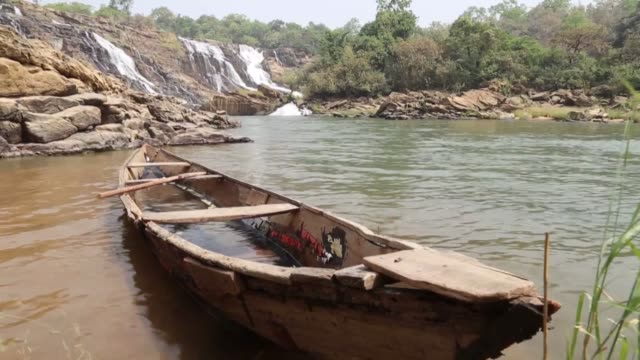 various shots of the gurara waterfalls in niger state of nigeria on january 18 2019 interview with nigerian yakubu danjuma on friday - nigeria stock videos and b-roll footage