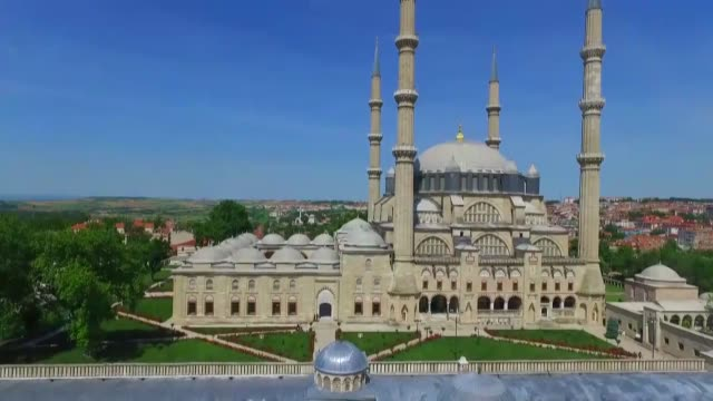 "various shots of the selimiye mosque in edirne which the renowned ancient turkish architect mimar sinan named as his ""masterpiece"" on august 05 2018... - unesco stock videos & royalty-free footage"