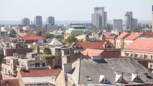 various shots of zagreb its residents and tourists croatia got the green light to join the preeuro currency system last month and now have at least... - zagreb stock videos & royalty-free footage