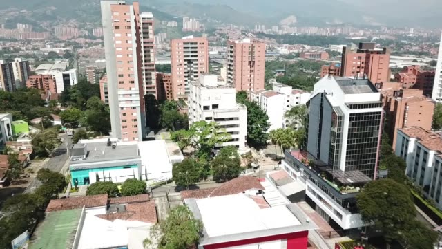 various shows during the implosion of monaco building in medellin colombia on february 22 2019 the building is remembered for being a pablo escobar's... - medellin colombia stock videos & royalty-free footage