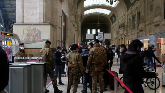 various situations related to coronavirus in milan italy on monday march 9 2020 - prison riot stock videos & royalty-free footage
