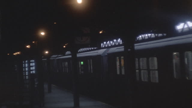 various subway, el train shots - 1966 stock videos and b-roll footage