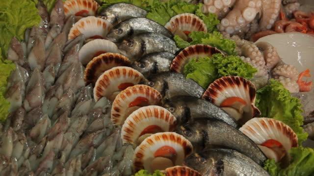 CU PAN Various Types of Seafood / Venice, Italy