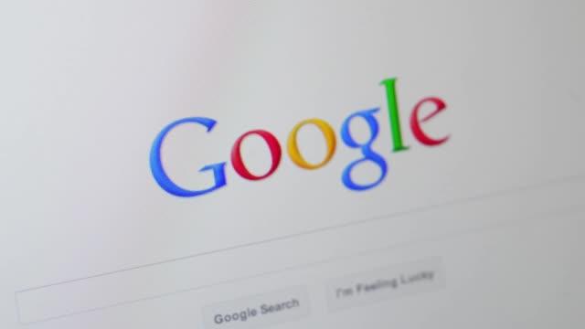 Various views of generic Google homepage Generic Google homepage on April 16 2012 in New York New York