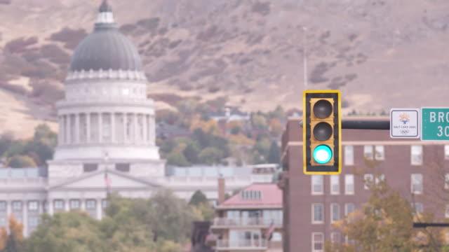 stockvideo's en b-roll-footage met various views of salt lake city utah - mormonism