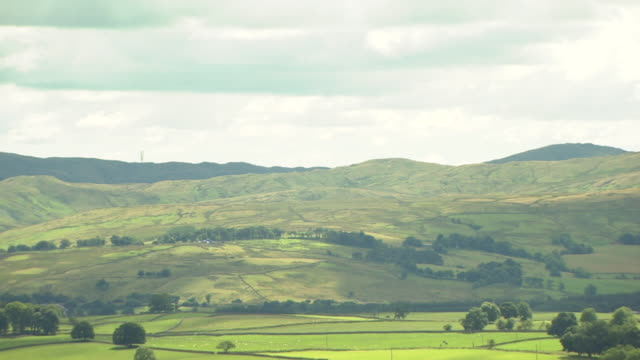 various views of the yorkshire dales - yorkshire england stock videos & royalty-free footage