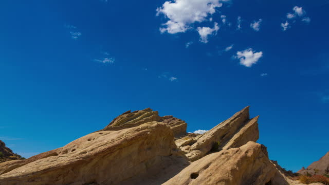 vasquez rocks - hd timelapse video - vasquez rocks stock videos and b-roll footage