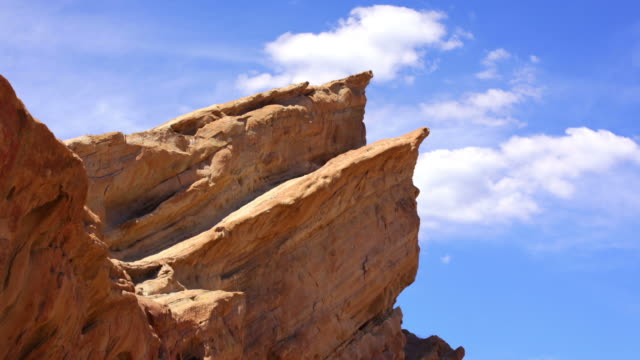 vasquez rocks - hd timelapse video - san andreas fault stock videos & royalty-free footage
