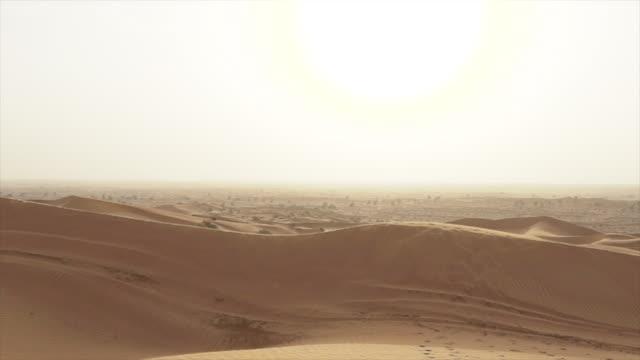 Vast desert landscape in Ras al-Khaimah, POV