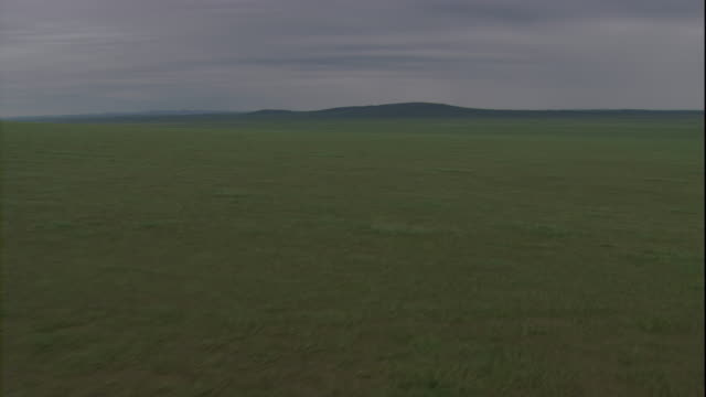 stockvideo's en b-roll-footage met vast grasslands cover the steppes in mongolia. available in hd. - mongolië
