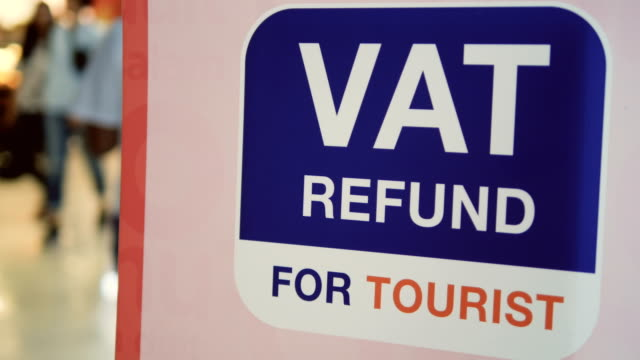 vat refund - vat stock videos & royalty-free footage
