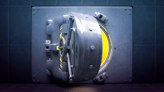Tresor-Türen öffnen und schließen mit ID und Alpha