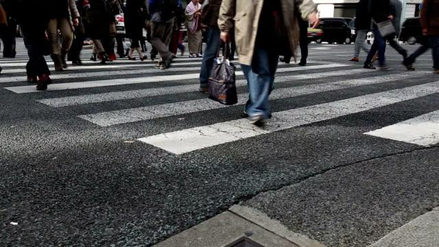 HD VDO:Commuters in Tokyo, Japan