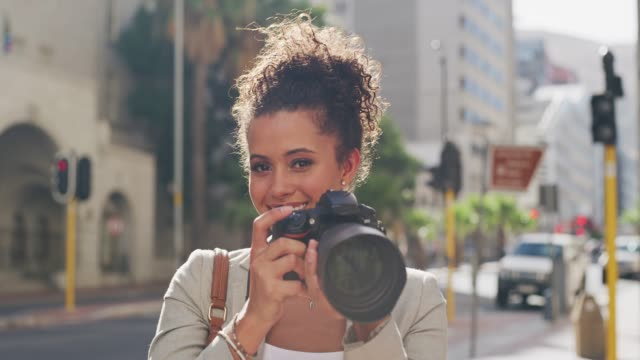 i've got to snap one of you too! - digital camera stock videos and b-roll footage