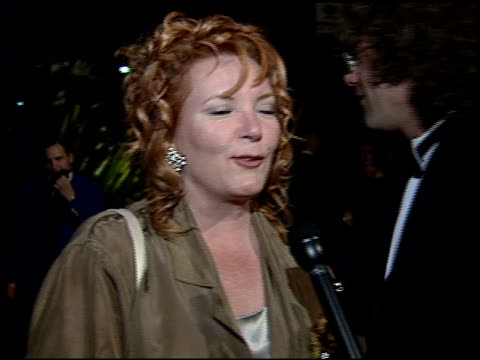 Ve Neill at the 1995 Academy Awards Morton Party at Morton's in West Hollywood California on March 27 1995