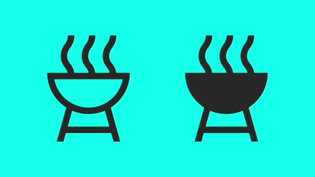 BBQ - Vector Animate