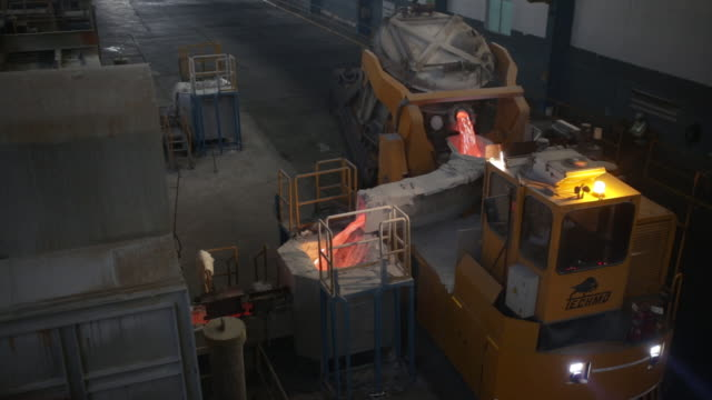 vedanta ltd's aluminium smelter plant in jharsuguda district in odisha on thursday june 20 2019 - nutzfahrzeug stock-videos und b-roll-filmmaterial