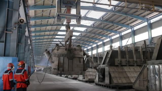 vedanta ltd's aluminium smelter plant in jharsuguda district odisha india on thursday june 20 2019 - aluminium stock videos & royalty-free footage