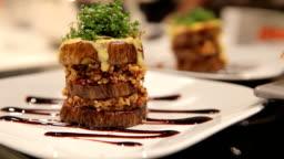 vegan food - hamburger