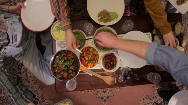 vegan food ready to eat - vinegar stock videos & royalty-free footage