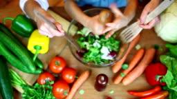 Vegetable in kitchen