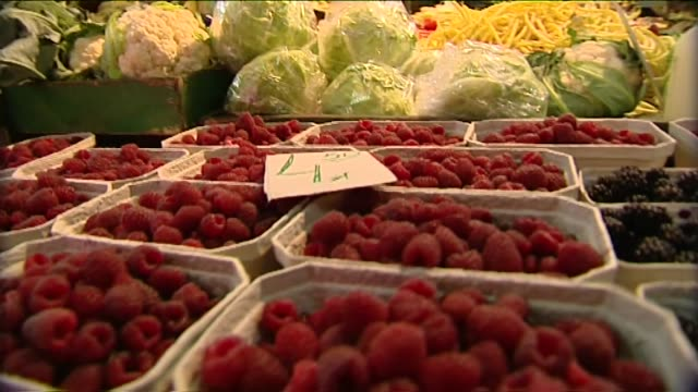 vegetables and fruit on market - plum stock videos & royalty-free footage