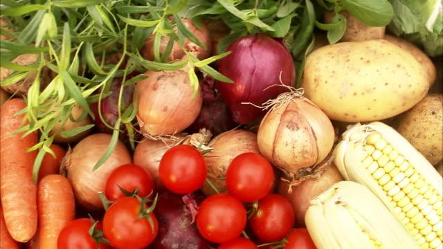 Vegetables, close-up, Sweden.