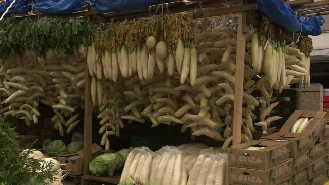 Vegetables For Pickles, Hokkaido, Japan